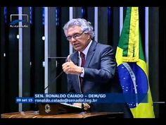 Senador Ronaldo Caiado volta a apoiar o impeachment da presidente Dilma ...