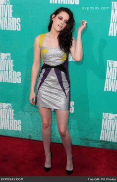 KRISTEN STEWART  MTV AWARED  | Kristen Stewart - 2012 MTV Movie Awards - Arrivals