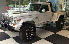 Bronco Truck, Jeep Pickup Truck, Jeep 4x4, Cool Jeeps, Cool Trucks, Jeep Golden Eagle, Jeep Garage, Old Jeep, Jeep Wagoneer