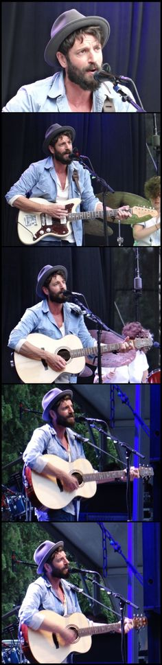 Ray LaMontagne at Outside Lands Music Festival in San Francisco, CA on August 10, 2014. Photos by Shane Tobin.