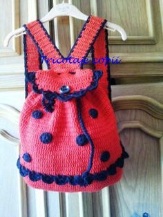 This ladybug purse is TDF. My daughter would have a fit :)