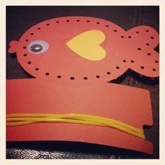 nissaMade: I O-fish-ially Like You - Valentine lacing cards