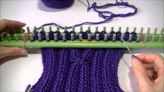 Leer hoe je een sjaal met kabels kan breien (dubbel breien).