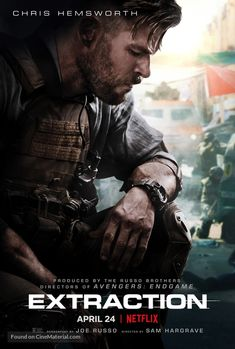 Netflix has finally debuted the trailer for Chris Hemsworth action thriller Extraction. The film will debut on the streaming service on April Netflix Movies Free, Netflix Original Movies, Movies Online, Film D'action, Bon Film, Films Hd, Perfect Movie, 2020 Movies, April Movies