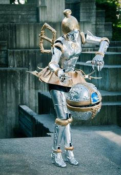 Orianna, cosplayed by Britthebadger, photographed by Bill Hinsee