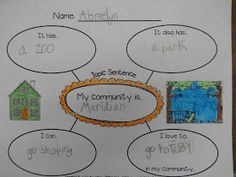 Mrs. T's First Grade Class: First Grade Communities Project