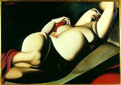 La Belle Rafaela, 1927-Tamara de Lempicka - by style - Art Deco