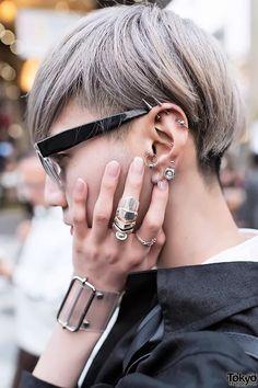 Style Tips: Multiple Ear Piercings