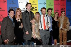 Cast and crewmembers of 'In Search of a Midnight Kiss' arrive at the 2009 IFC Indie Film Celebration at Shutters on the Beach on February 21, 2009 in Santa Monica, California.