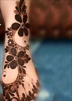 Khaleeji Mehndi Designs - Something For The Feet