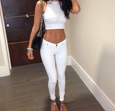 WHITE outfit