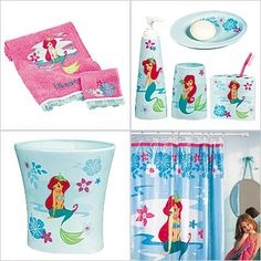Disney Ariel Bathroom Set | Then there's an Ariel Bath Accessories Set.. again, available at the ...