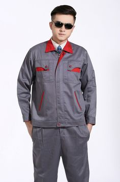 Autumn And Winter Long Sleeved Clothes Suit Male Mechanic Engineer Tooling Repair Factory Labor Service Man Work Wear Work Uniforms, Mechanical Engineering, Costume, Mens Suits, Nike Jacket, Work Wear, Motorcycle Jacket, Chef Jackets, Autumn Clothes