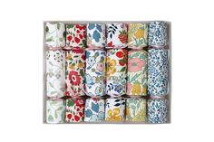 Liberty Floral Mini Crackers - Pack of 6