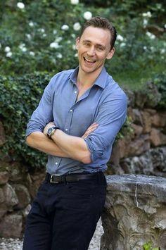 Tom Hiddleston photo call for Crimson Peak