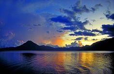 Lake Atitlan, Guatemala - Beautiful Places to Visit Guatemala Beaches, Guatemala City, Tikal, West Indies, Beautiful Places To Visit, Beautiful World, Beautiful Things, Places To Travel, Places To See
