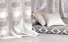 Kashta sheers from Romo Romo Fabrics, Tassel Curtains, Best Interior Design, Fabric Wallpaper, Interiores Design, Home Collections, Fabric Design, Upholstery, Rice Paper