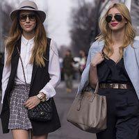 Tu mejor amiga puede ser tu mejor complemento. Coincidencias, polos opuestos... las fashion insiders viven la moda en inmejorable compañía.