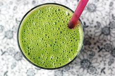"This is a smoothy recipe ""for kids"" from Sonnet, the holistic health coach who blogs at For the Love of Food. But ""for grownups"" I'm pretty sure this would be a great way to get the body ready for a night on the town. Vitamins and potassium, everybody!"