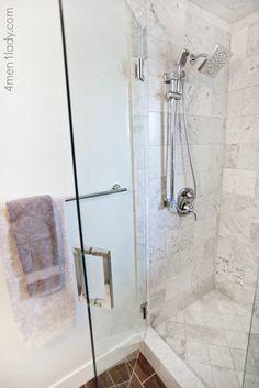 Master bathroom and closet reveal.