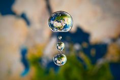 Brilliant! (Click for more) Miniature Liquid Worlds by Markus Reugels