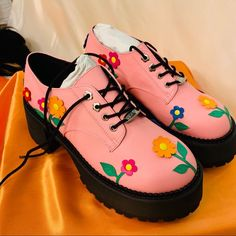 Dr Shoes, Swag Shoes, Me Too Shoes, Oxford Platform, Platform Shoes, Aesthetic Shoes, Aesthetic Clothes, Pretty Shoes, Cute Shoes