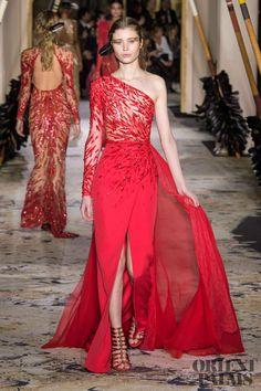 Zuhair Murad at Couture Spring 2018 - Runway Photos Couture Mode, Style Couture, Couture Fashion, Zuhair Murad, Women's Runway Fashion, Fashion Week, Fashion Show, Gala Dresses, Evening Dresses