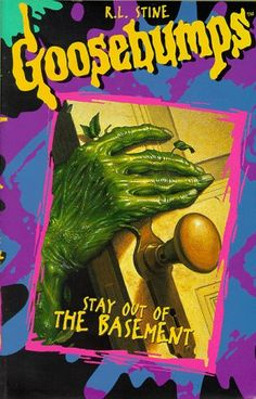 Goosebumps - R.L. Stine... this series of books was everywhere!!! They were something else I never got into though, mostly because they totally freaked me out!