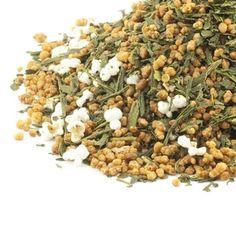 Green tea, popcorn and chai spices Genmaicha Tea, Wholesale Tea, Chai, Dog Food Recipes, Beans, Spices, Vegetables, Popcorn, Green