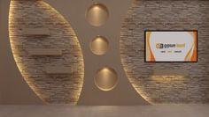 أحدث ديكور شاشات البلازما جبس بورد Gypsum Board Gypsum