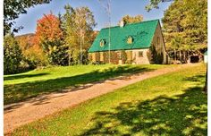 One of the Chalets-Village Mont-Sainte-Anne, a cluster of 14 unique country houses near Mont-Sainte-Anne. Mont Sainte Anne, Country Houses, Montreal, Cabin, Culture, Lifestyle, House Styles, Unique, Travel