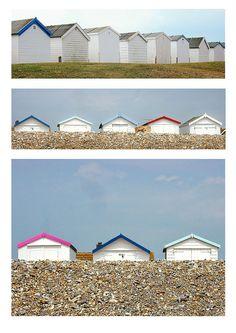 Beach huts Recommended by www.londonlocks.com/ London Locksmiths.