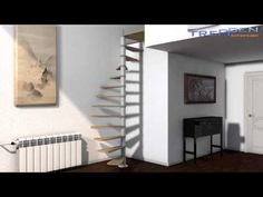 Montageanleitung Video Spindeltreppe Flamenco - YouTube