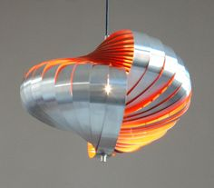 Space Age design Lamp by HENRI MATHIEU Mid Century by ICONICLIGHTS, €535.00