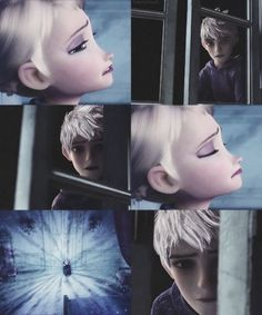 """""""You won't be alone. I'm here. I'll always be""""                                                         Queen Elsa and Jack Frost"""