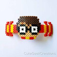 Easy Perler Bead Patterns, Diy Perler Beads, Perler Bead Art, Pearler Beads, Pixel Beads, Fuse Beads, Harry Potter Perler Beads, Hama Disney, Pixel Art