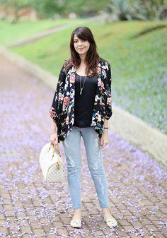 Look do dia: Jeans e quimono | Just Lia