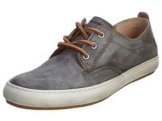 Frye Norfolk Deck Mens 3480117-SMK Smoke Leather Stylish Casual Shoes Size 9.5