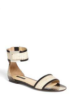 Rachel Zoe 'Gracie' Snakeskin Sandal