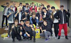 MYNAME, VIXX, BTOB, JJ Project - from MTV Diary (best show ever!)