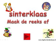 Digibordonderbouw Digibordles: Sinterklaas: maak de reeks af. http://digibordonderbouw.nl/index.php/component/jdownloads/viewcategory/354?Itemid=