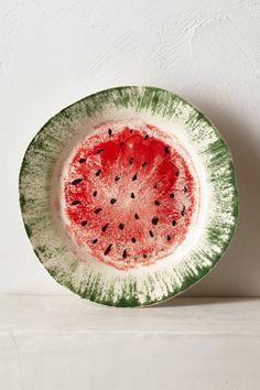 Watermelon Dessert Plate