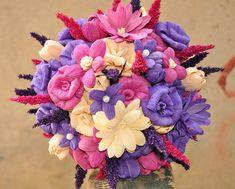 Purple Corn Husk Bouquet
