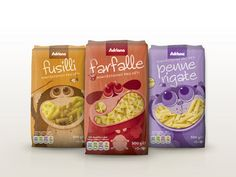 Pasta packaging bag design with creative window shape #Sachets #à #soufflets #side #gusset #bags #gusseted #Sacs #Quadri #Scelle #quad #seal #bag #Sachets #A #Fond #Plat #flat #bottom #pouch #pocuhes #plastic #sachets #plastiques #plastic