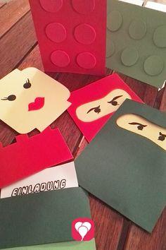 Www.bestempelt.de: Einladungskarten Für Kleine Ninja´s   Pozvánky    Pinterest   Ninjago Party, Birthdays And Diy Cards