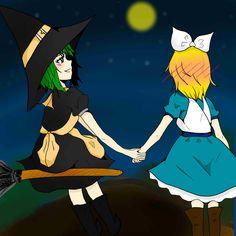 HALLOWEEN Rin & GUMI OrangeCarrot