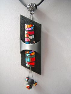 multico9.JPG by Ma-belette, via Flickr  stroppel cane pendant