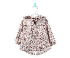 PRINTED RAINCOAT - Jackets - Baby girl - Kids - ZARA United States