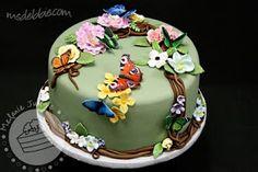 Cake Walk: Butterfly Rainforest Cake