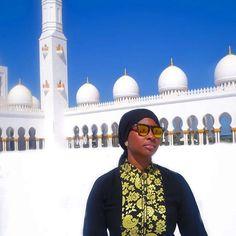 Monday strolls. @mytranquiltravel // Abu Dhabi UAE. #travelnoire #abudhabi